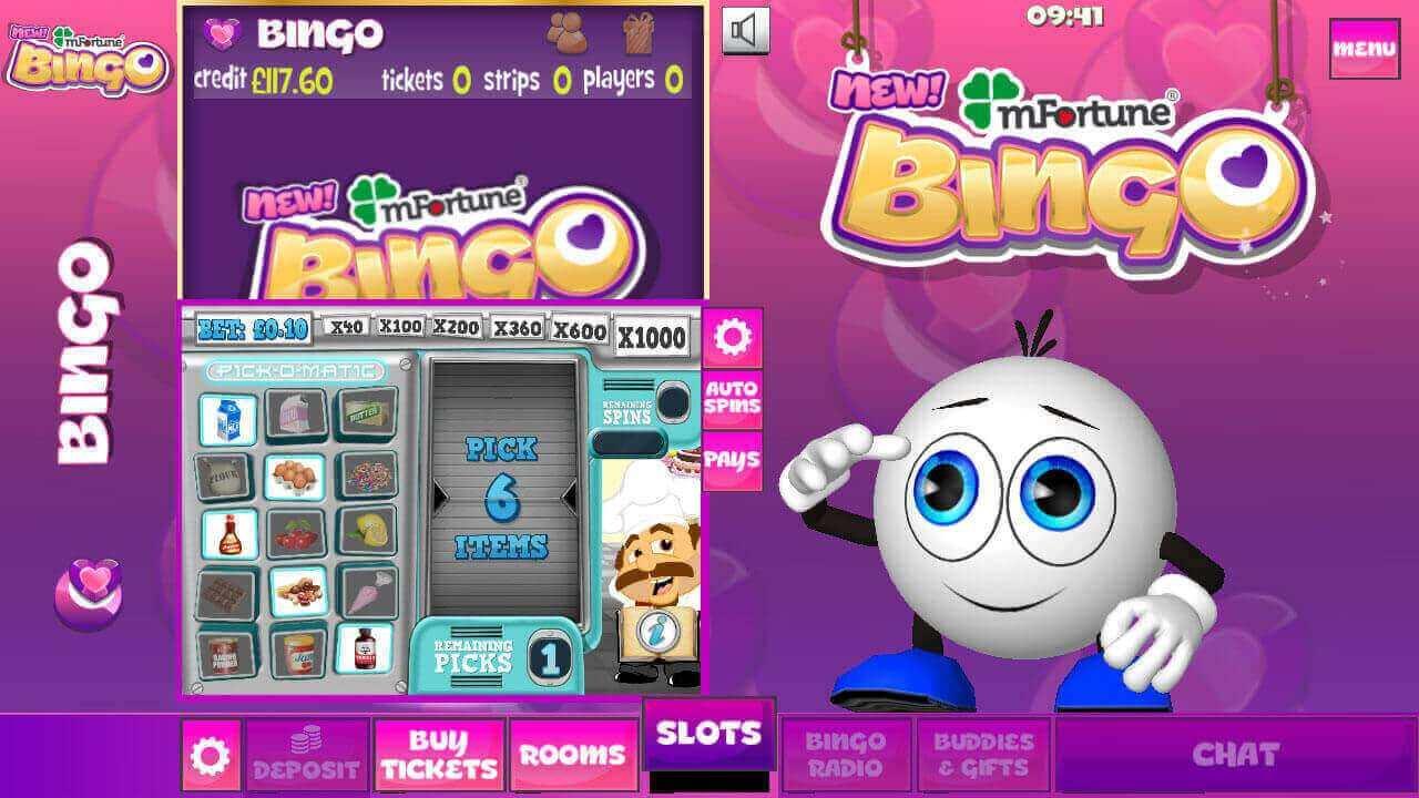 mFortune Bingo mobile slots screenshot