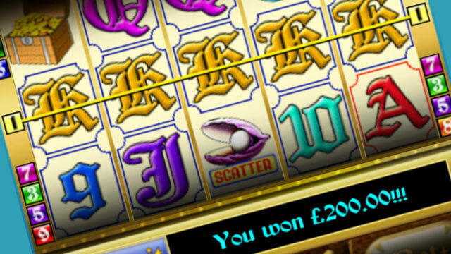Pirate's Treasure mobile slots win line