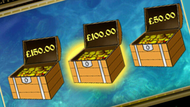 Pirate's Treasure mobile slots Treasure Chest mini-game