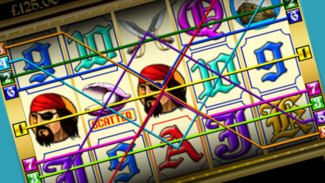 Pirate's Treasure mobile slots win lines