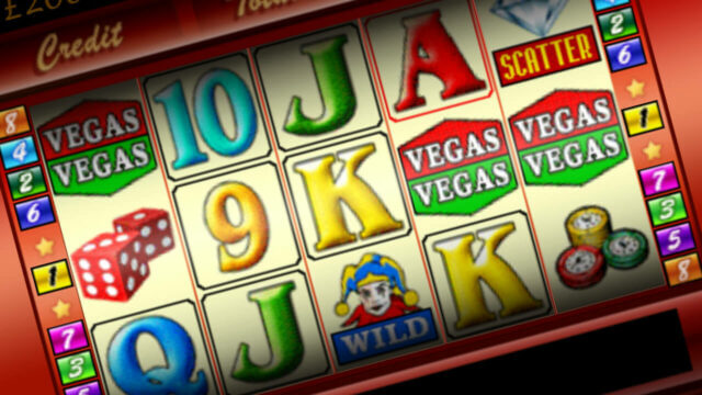 Vegas Vegas mobile slots game screenshot