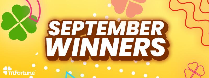 The 10 Biggest September Mobile Slots Winners
