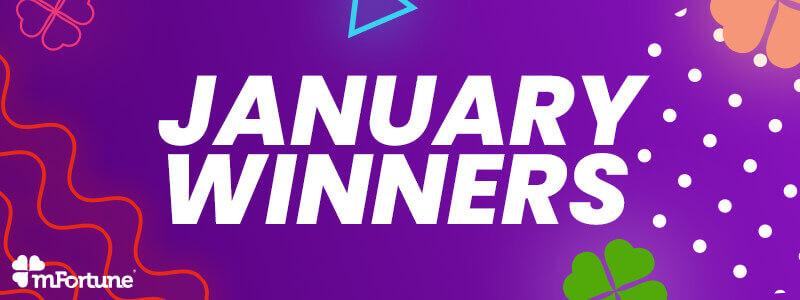 January Slots Winners 2019